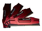 G.Skill Ripjaws V - DDR4 - 64 GB : 4 x 16 GB - DIMM 288-PIN - 2666 MHz / PC4-21300 - CL15 - 1.2 V - ungepuffert - nicht-ECC - Blazing Red
