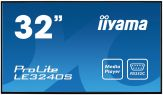"""Iiyama ProLite LE3240S-B1 - LED-Monitor - 80 cm ( 32"""" ) - 1920 x 1080 FullHD - IPS - 350 cd/m2 - 1 400 : 1 - 8 ms - matt - HDMI, DVI, VGA - Laut."""