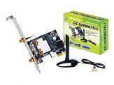 Gigabyte GC-WB867D-I (rev. 1.0) - Netzwerkadapter - PCIe - ac fähig - 802.11b, 802.11a, 802.11g, 802.11n, Bluetooth 2.1 EDR, Bluetooth 3.0 HS, 802.11a