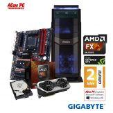 ACom Ultra Gamer 2017 AMD FX8-1060 - AMD FX 8300 Black Edition - 8 GB RAM - 1 TB HDD - DVD-Brenner - GF GTX 1060 3 GB - USB3.0 - 600 Watt