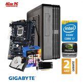 ACom i7 Highspeed SILENT Allrounder G7 - ohne Win - Intel Core i7-7700 - 16 GB RAM - 1 TB HDD - DVD-Brenner - USB 3.0 - GF GT 730 2GB