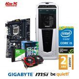 ACom Ultra Gamer 2017 G7 i5-1050Ti - Intel Core i5-7400 - 8 GB RAM - 120 GB SSD + 2 TB HDD - DVD-Brenner - GeForce GTX 1050Ti - USB 3.0 - 600 Watt