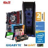 ACom Frühjahrs Special G7 i7-1060 - Win 10 - Intel Core i7-7700 Kaby Lake - 16 GB RAM - 240 GB SSD + 2 TB HDD - GF GTX 1060 - 550 Watt