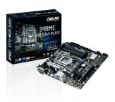 ASUS PRIME H270M-PLUS - Motherboard - Mikro-ATX - LGA1151 Socket - H270 - USB 3.0, USB-C - Gigabit LAN - Onboard-Grafik (CPU erforderlich)