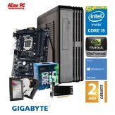 ACom i5 Highspeed SILENT Allrounder G7 - Win 10 Home - Intel Core i5-7400 - 8 GB RAM - 240 GB SSD + 1 TB HDD - DVD-Brenner - USB 3.0 - HD Graphics 630