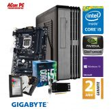 ACom i5 Highspeed SILENT Allrounder G7 - Win 10 Pro - Intel Core i5-7400 - 8 GB RAM - 240 GB SSD + 1 TB HDD - DVD-Brenner - USB 3.0 - HD Graphics 630