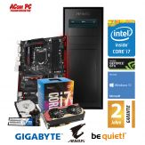 ACom Frühjahrs Special G7 i7-1070 - Win 10 - Intel Core i7-7700K - 16 GB RAM - 250 GB SSD (M.2) + 2 TB HDD - DVD-Brenner - GF GTX 1070 - 600 Watt