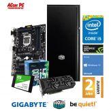 ACom Ultra Gamer SILENT G7 i5-1060 - Win 10 - Intel Core i5-7500 Skylake - 8 GB RAM - 240 GB SSD + 1 TB HDD - DVD-Brenner - GF GTX 1060 3GB
