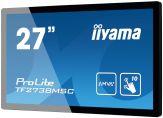 "Iiyama TF2738MSC-B1 - Multi-Touch - 68.6 cm ( 27"" ) - 1080p (FullHD) - 5 ms - DVI, VGA, HDMI - Lautsprecher - Schwarz"
