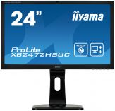 "Iiyama ProLite XB2472HSUC-B1 - Business LED-Monitor - 59.8 cm (23.6"") - 1920 x 1080 Full HD - VA - 250 cd/m² - 3000:1 - 8 ms - DVI, VGA, DP - Lautspr."