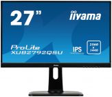 "Iiyama ProLite XUB2792QSU-B1 - Business LED-Monitor - 68.5 cm (27"") - 2560 x 1440 - AH-IPS - 350 cd/m² - 1000:1 - 5 ms - HDMI, DVI, DP - Lautsprecher"