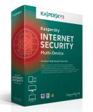 Kaspersky Internet Security Multi Device - Erneuerung der Abonnement-Lizenz (1 Jahr) - 5 Peripheriegeräte - Win, Mac, Android - Deutsch