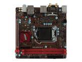 MSI B250I GAMING PRO AC - Motherboard - Mini-ITX - LGA1151 Socket - B250 - USB 3.1 - Bluetooth, Gb LAN, Wi-Fi - Onboard-Grafik (CPU erforderlich)
