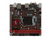 MSI H270I GAMING PRO AC - Motherboard - Mini-ITX - LGA1151 Socket - H270 - USB 3.1 - Bluetooth, Gb LAN, Wi-Fi - Onboard-Grafik (CPU erforderlich)