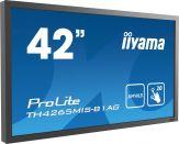 Iiyama ProLite TH4265MIS-B1AG - professionelles Großformat-Display mit Touchscreen-Funktionalität (20 Punkte) und Daisy-Chain-Unterstützung
