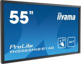 "Iiyama ProLite TH5565MIS-B1AG – Professionelles 55"" (138.8 cm) Full HD 24/7 Large Format Display mit 20-Punkt Multitouch in schwarz"