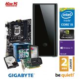 ACom SILENT Grafik/Video Workstation G7 i5-K620 - Win 10 Pro - Intel Core i5-7600 - 16 GB RAM - 240 GB SSD + 2 TB 24/7 HDD - DVD-Brenner - Quadro K620
