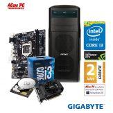 ACom Ultra Gamer G7 i3-1050Ti - Intel Core i3-7100 - 8 GB RAM - 1 TB HDD - DVD-Brenner - GeForce GTX 1050Ti - USB 3.0 - 500 Watt