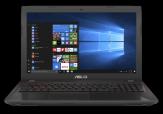 """ASUS FX553VD-DM249T - Core i7 7700HQ / 2.8 GHz - Win 10 - 8 GB RAM - 128 GB SSD + 1 TB HDD - 39.6 cm (15.6"""") - NVIDIA GeForce GTX 1050 - Wi-Fi"""