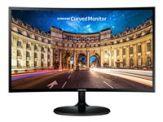 "Samsung CF390 Series C27F390FHU - LCD-Monitor - gebogen - 68.6 cm (27"") - 1920 x 1080 Full HD (1080p) - VA - 250 cd/m² - 3000:1 - 4 ms - HDMI, VGA - k"