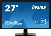 "Iiyama ProLite X2788QS - 68.6 cm (27"") - 2560 x 1440 FullHD - IPS - 350 cd/m2 - 5 ms - HDMI, DVI, DP - Lautsprecher - schwarz"