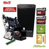 ACom Sommer Special 2018 V1 - Windows 7 HP - AMD A6-5400K - 4 GB RAM - 1 TB HDD - DVD-Brenner - AMD Radeon HD 7540D - USB 3.0