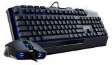 Cooler Master Devastator 2 - SGB-3030-KKMF1-DE - Tastatur-und-Maus-Set - USB - Deutsch - blau beleuchtet - Schwarz