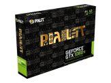 Palit GeForce GTX 10 Series GTX 1080 Ti - Founders Edition - Grafikkarten - GF GTX 1080 Ti - 11 GB GDDR5X - PCIe 3.0 x16 - HDMI, 3 x DisplayPort