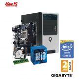 ACom Angebot des Monats Intel STARTER 150-G6 - Intel® Core™ i3-6100 - 4 GB RAM - 1 TB HDD - DVD-Brenner - Intel HD 530 - USB 3.0 - 450 Watt