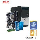 ACom Angebot des Monats Intel STARTER 130-G7 - Intel® Pentium® G4560 - 4 GB RAM - 1 TB HDD - DVD-Brenner - Intel HD 510  - USB 3.0 - 350 Watt