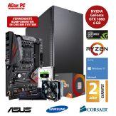 ACom Ultra Gamer - Win 10 - AMD Ryzen 7 1800X - 16 GB RAM - 500 GB SSD M.2 - 2 TB HDD - DVD-Brenner - GF GTX 1060 6 GB - USB 3.0 -650 Watt