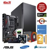 ACom Ultra Gamer - Win 10 - AMD Ryzen 7 1800X - 16 GB RAM - 500 GB SSD M.2 - 2 TB HDD - DVD-Brenner - GF GTX 1070 8 GB - USB 3.0 -650 Watt