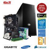 ACom Sommer Special G7 i5-7600K - Win 10 - Intel Core i5-7600K - 8 GB RAM - 250 GB SSD + 1 TB HDD - GF GTX 1070 8 GB - 550 Watt