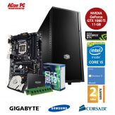ACom Sommer Special G7 i5-7600K - Win 10 - Intel Core i5-7600K - 8 GB RAM - 250 GB SSD + 1 TB HDD - GF GTX 1080 Ti 11 GB - 550 Watt