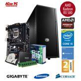 ACom Sommer Special G7 i5-7600K - Win 10 - Intel Core i5-7600K - 8 GB RAM - 250 GB SSD + 1 TB HDD - Radeon RX 580 8 GB - 550 Watt