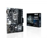 ASUS Prime B250M-A - Motherboard - Micro/Mini/Flex-ATX - LGA1151 Socket - B250 - USB 3.0 - Gigabit LAN - Onboard-Grafik (CPU erforderlich)