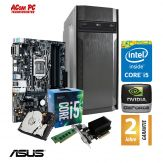ACom i5 Highspeed SILENT Allrounder G7 V1 - ohne Win - Intel Core i5-7400 - 8 GB RAM - 1 TB HDD - DVD-Brenner - USB 3.0 - GT 710 2 GB