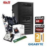 ACom 219€ PC 2017 - AMD A6-5400K - 4 GB RAM - 500 GB HDD - DVD-Brenner - Radeon HD7540D - 350 Watt