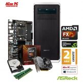 ACom Ultra Gamer AMD FX8-1060 - AMD FX 8300 Black Edition - 8 GB RAM - 1 TB HDD - DVD-Brenner - GF GTX 1060 3 GB - USB3.0 - 600 Watt