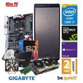 ACom Ultra Gamer G6 i7-1080Ti - Win 10 PRO - Intel® Core™ i7-6800K Broadwell - 32 GB RAM - 500 GB SSD + 2 TB HDD - DVD-Brenner - GF GTX 1080 TI- 600 W