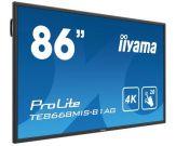 "Iiyama ProLite TE8668MIS-B1AG 218.4 cm (86"") Klasse (217.4 cm (85.6"") sichtbar) LED-Display - nteraktive Kommunikation -mit Touchscreen (Multi-Touch)"