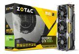 ZOTAC GeForce GTX 1080 Ti AMP Extreme - Core Edition - Grafikkarte - GF GTX 1080 Ti - 11 GB GDDR5X - PCIe 3.0 - DVI, HDMI, 3 x DisplayPort