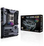 ASUS TUF X299 MARK 1 - Motherboard ATX - LGA2066 Socket - X299 - USB 3.1 Gen 1 - USB-C Gen2 - USB 3.1 Gen 2 - 2 x Gigabit LAN - HD Audio (8-Kanal)