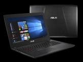 """ASUS ROG FX502VM-FY291 - Core i7 7700HQ / 2.8 GHz - Win 10 Pro - 16 GB RAM - 250 GB Samsung 960 EVO SSD M.2 + 1 TB HDD - 39.6 cm (15.6"""") - GF GTX 1060"""