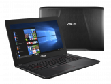 "ASUS ROG Strix Gaming Notebook FX502VM-FY291 - i7 7700HQ - 15.6"" - 16 GB RAM - 500 GB Samsung 960 EVO M.2 SSD + 1 TB HDD - GF GTX 1060 - Win 10 Pro"