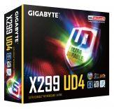 GIGABYTE X299 UD4 Mainboard - Intel X299 - Intel LGA2066 socket - DDR4 RAM - ATX
