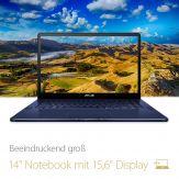 "ASUS ZENBOOK Pro - Core i7-7700HQ - Windows 10 Home  - 16 GB RAM - 512 GB SSD - 39.6 cm ( 15.6"" ) Full HD entspiegelt - GeForce GTX 1050"