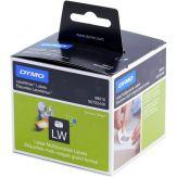 Dymo Large Multipurpose Labels Schwarz - Weiß - 320Stück - selbstklebendes Etikett - 54mm x 70 mm für Labelwriter 450