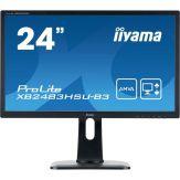 "Iiyama ProLite XB2483HSU-B3 - LED-Monitor 61 cm (24"") - 1920 x 1080 Full HD (1080p) - A-MVA - 4 ms - HDMI - VGA - DP - Lautsprecher - Schwarz"