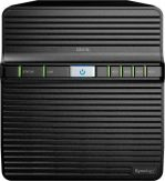 Synology Disk Station DS418j - NAS-Server - 4 Schächte - RAID 0, 1, 5, 6, 10, JBOD - RAM 1 GB - Gigabit Ethernet - iSCSI